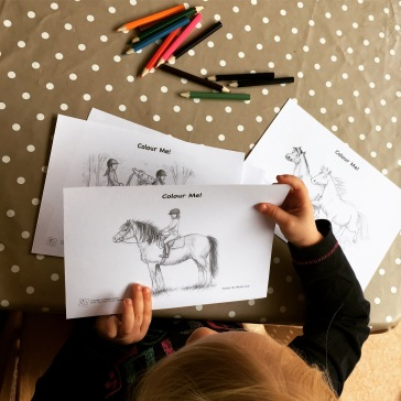 And also some great illustrations by Freddie Forelock for your little ones to colour in.